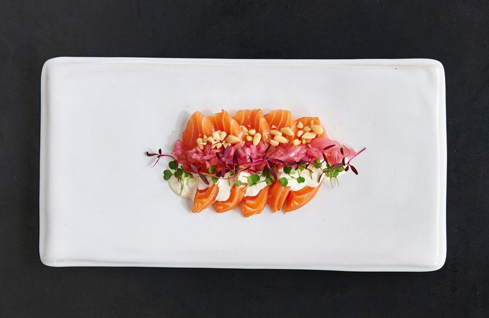 How salmon became sushi - Salmon carpacio