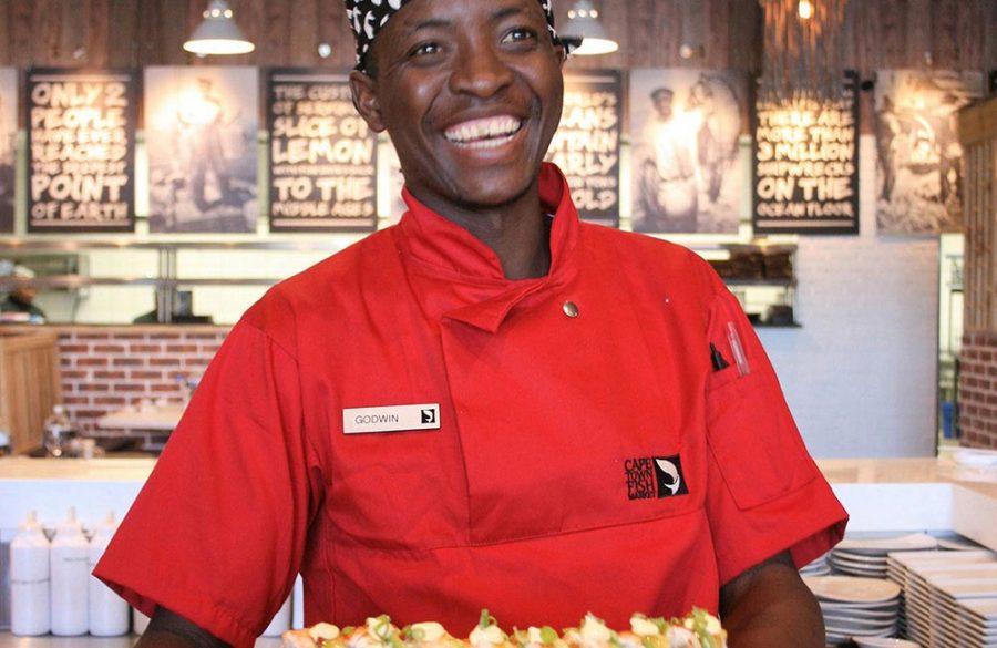 Godwin Kunedzimwe – sushi maestro, future celebrity chef