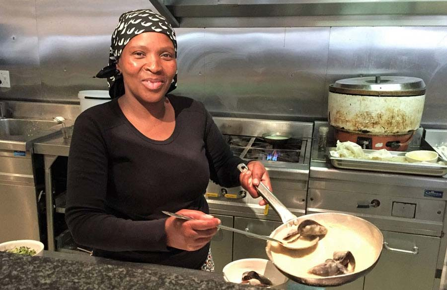 Cecilia Ntuma – Our longest-serving kitchen staff member