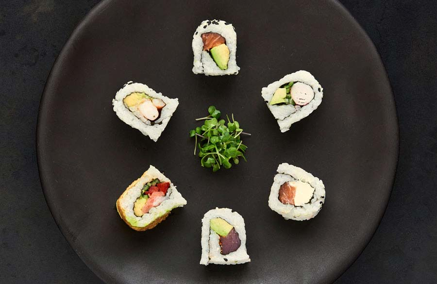 CTFM Guide to sushi - Inside-out rolls