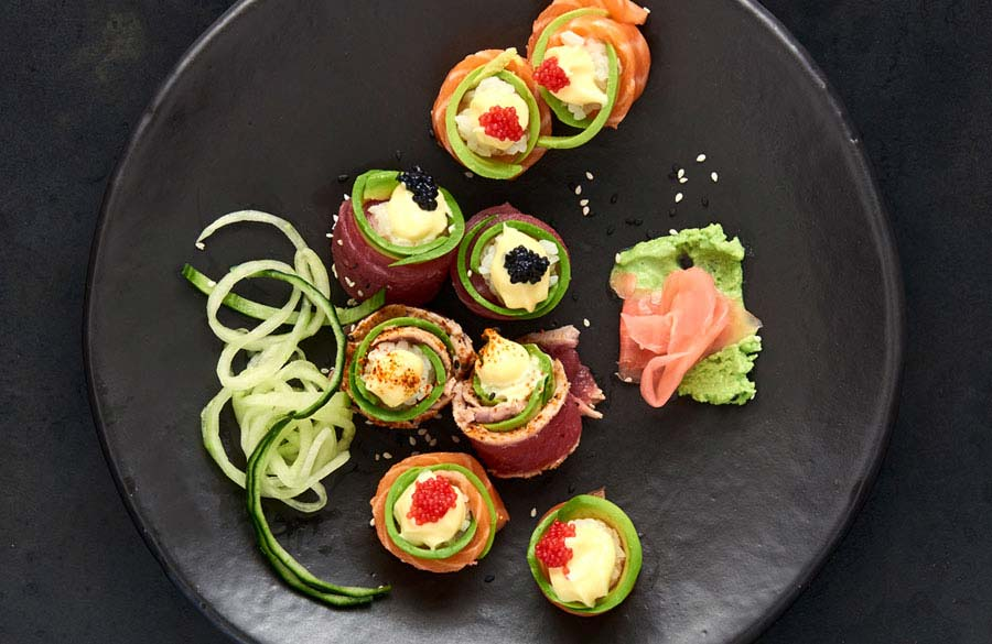 CTFM Guide to sushi - Roses
