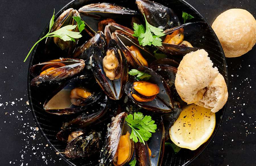 Find it on our menu - Mussels