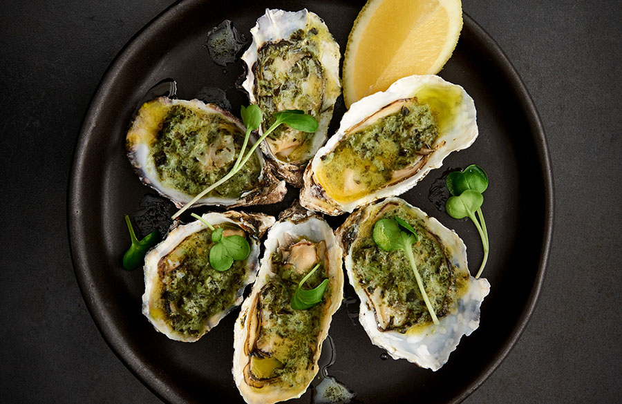 Find it on our menu - Oysters