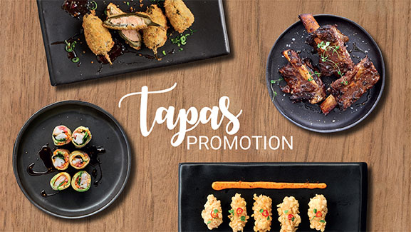 Tapas Promotion at CTFM