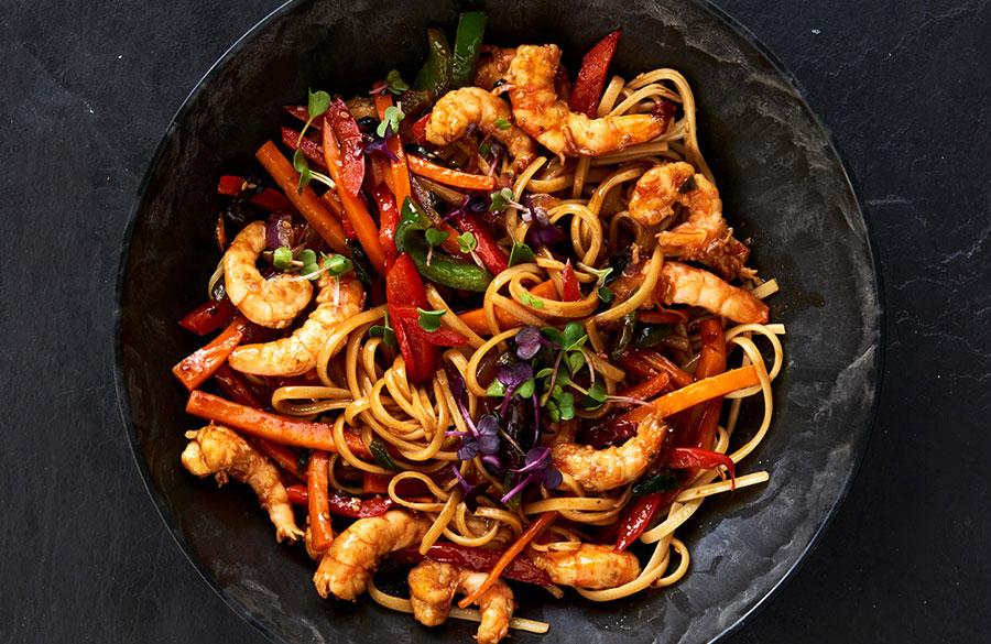 Fusion Cuisine - Prawn Noodles