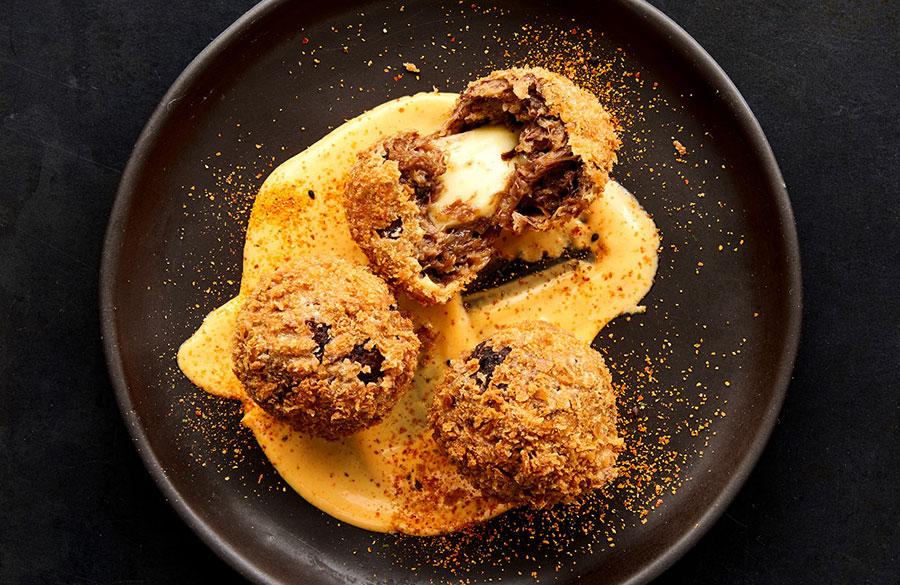Fusion Cuisine - Tapas - Lamb Croquettes