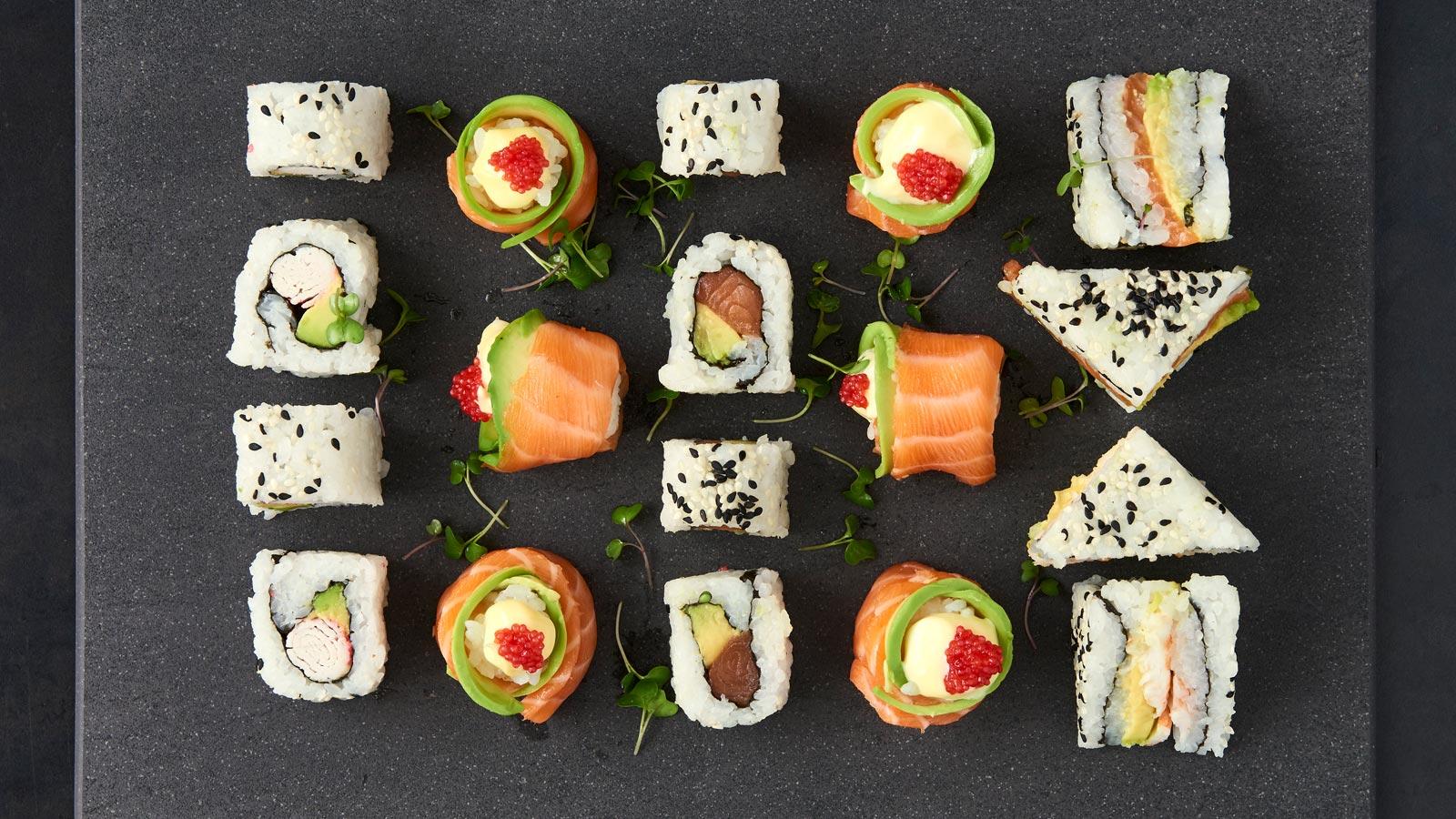 Menu Sushi Platters